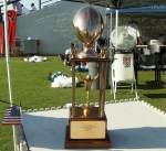 1961 Southern Conference championship trophy