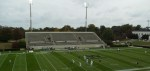 Visitors side, Gibbs Stadium (pregame)