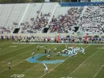 The Citadel offense vs. Western Carolina