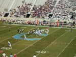 The Citadel offense vs. WCU