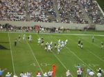 Wofford commits a false start in punt formation