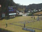 Scoreboard at Paladin Stadium