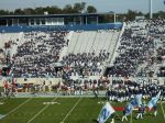 Cadets enter the stands