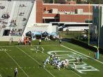 The Citadel scores a touchdown