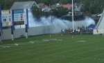 Touchdown Cannon Crew fires away