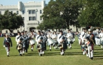 Band marches inparade