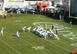 Field goal attempt -- The Citadel