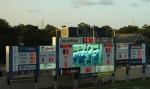 Scoreboard - halftime