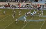 The Citadel offense v. C. Carolina U.