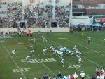 The Citadel offense versus C. Carolina