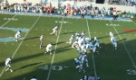 The Citadel offense vs. Chanticleers