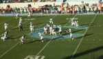 The Citadel offense vs Chanticleers