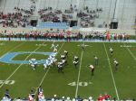 The Citadel offense - 1st quarter