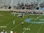 The Citadel offense - first quarter