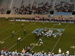 The Citadel offense - second qtr