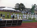 The Citadel takes the field