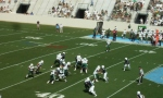 The Citadel defense ---- 1st qtr