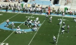 The Citadel defense - 1st quarter