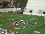 The Citadel defense --- 1st quarter