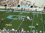 The Citadel defense ---- 1st quarter