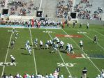 The Citadel defense- 1st quarter