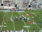 The Citadel defense- 1st quarter