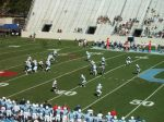 The Citadel defense - 3rd quarter