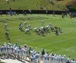 The Citadel defense - first quarter