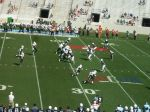 The Citadel defense -- first quarter