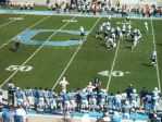 The Citadel defense - second qtr