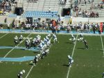 The Citadel defense --- second qtr