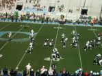 The Citadel defense - third qtr.