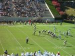 The Citadel defense -- third quarter