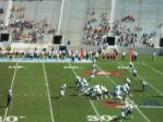 The Citadel offense- 1st qtr.