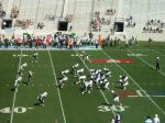 The Citadel offense -- 1st qtr