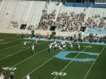The Citadel offense -- 1st qtr.