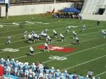 The Citadel offense - 1st qtr.