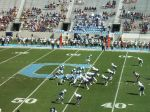 The Citadel offense- 1st qtr