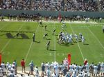 The Citadel offense-2nd qtr