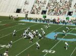 The Citadel offense -- 2nd qtr