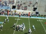 The Citadel offense - 2nd qtr.