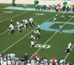 The Citadel offense --- 2nd quarter