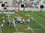 The Citadel offense --- 2nd quarter