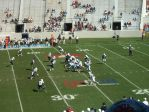 The Citadel offense - 3rd qtr