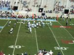 The Citadel offense - 3rd qtr.