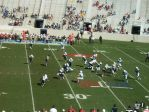 The Citadel offense -- 3rd qtr