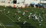 The Citadel offense --- 3rd quarter