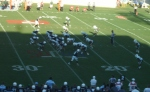 The Citadel offense----4th qtr