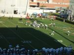 The Citadel offense---- 4th qtr.