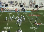 The Citadel offense - 4th qtr.